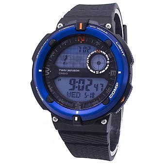 Casio Outdoor SGW-600H-2A SGW600H-2A Twin Sensor Quarz Digitale Herren's Uhr