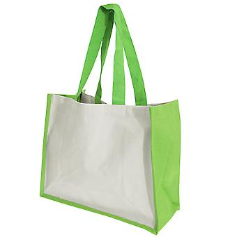 Westford Mill Printers Jute Cot Shopper Bag (21 Litres)