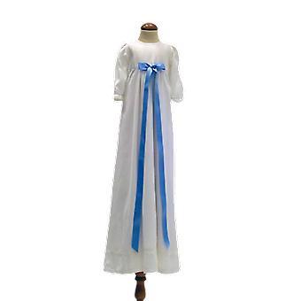Dopklänning Med Ljusblå Rosett, Grace Of Sweden Pr.la