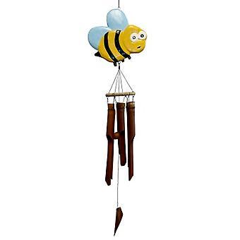 Bee-trice Bee Bamboo Wind Chime
