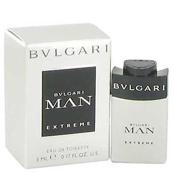 Bvlgari man extreme door Bvlgari Mini EDT .17 Oz (mannen) V728-517914