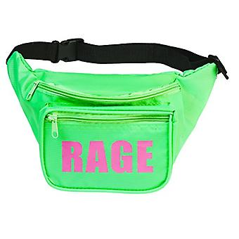 Funny Guy Mugs RAGE Fanny Pack, Neon Green, Green, Size One Size
