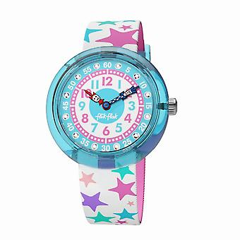 Flik Flak Watches Fbnp081 Tahtila Stars Textile Watch