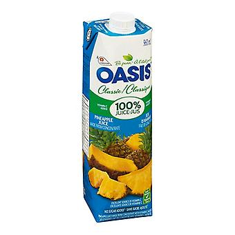 Oasis Prisma Ananas ren juice-( 960 Ml X 1 flaskor )