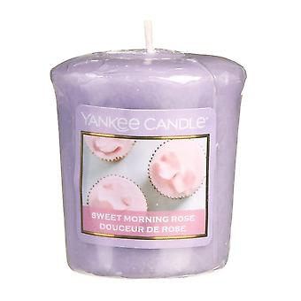 Yankee Candle Classic Votive Sweet Morning Rose