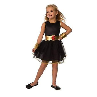 Rubie's Marvel Universe Child's schwarze Witwe Kostüm Tutu Kleid