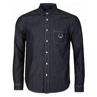 Kenzo Tiger Crest Denim overhemd
