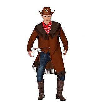 Homens fantasiam Colete cowboy para homens