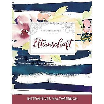 Maltagebuch fr Erwachsene Elternschaft Schildkrten Illustrationen Maritimes Blumenmuster by Wegner & Courtney