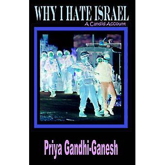 Why I Hate Israel A Candid Account by GandhiGanesh & Priya