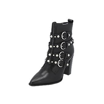 Bronx Americana Pearl Women's Boots Black Lace-Up Boots Winter