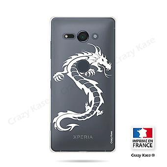 Hull For Sony Xperia Xz2 Compact Soft Dragon White