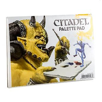 Citadel Palette Pad, Warhammer 40,000/Age of Sigmar, Games Workshop