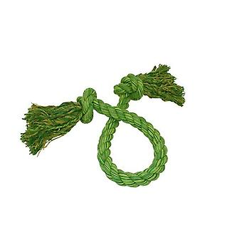 Happy Pet Flossin Fun Knotted Rope Tugger
