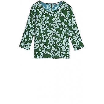 Sandwich Clothing Emerald Patterned Blouse