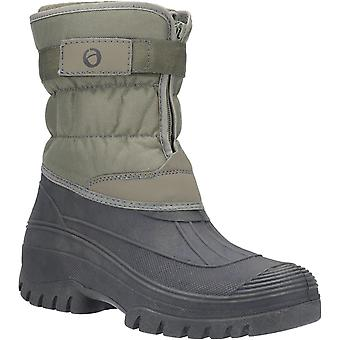 Cotswold Men-apos;s Chase Touch Fastening Zip Up Winter Boot 22832