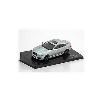 IXO Models Jaguar XFR In Rhodium Silver 1:43 Dealership Model