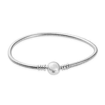 Charmes De Memoire Platinum Over Silver Bracelet (7.5