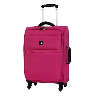 IT Supersonic Soft Case Luggage Bag Travel Telescopic Handle Top Handle