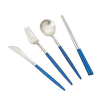 Matte Cutlery Tableware Set Stainless Steel Stainless Steel