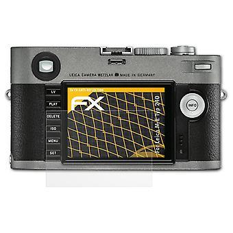 atFoliX Verre film protecteur compatible avec Leica M-E Typ 240 9H Hybride-Verre