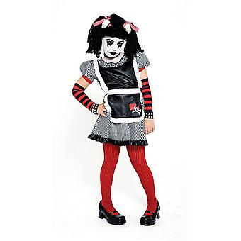Skull Rag Doll Child Costume