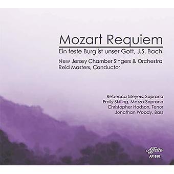 Bach, J.S. / New Jersey Chamber Singers / Meyers - Requiem 626 / Ein Feste Burg Ist Unser Gott 80 [CD] USA import