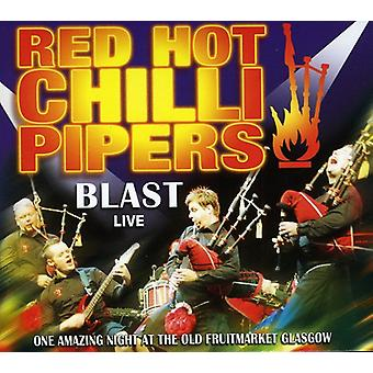 Red Hot Chilli Pipers - Blast Live [CD] USA import
