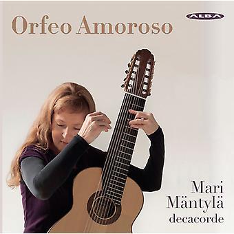 Hille / Mantyla - Orfeo Amoroso [CD] USA import