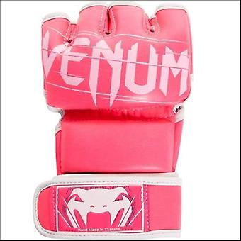 Venum undisputed 2.0 leather mma fight gloves pink