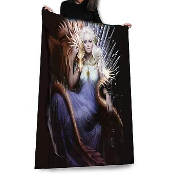 Wild star hearts - mother of dragons - blanket, throw