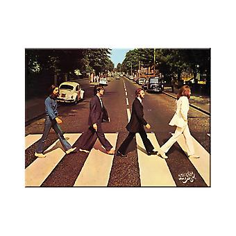 Abbey Road Fab 4 Nostalgic Metal Magnet - Cracker Filler Gift