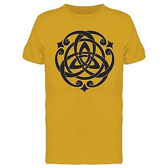 Celtic Knot Motif Grafica Tee Uomini's -Immagine di Shutterstock