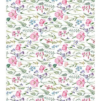 "Craft Consortium Decoupage Papers 13.75""X15.75"" 3/Pkg-Summer Meadow"