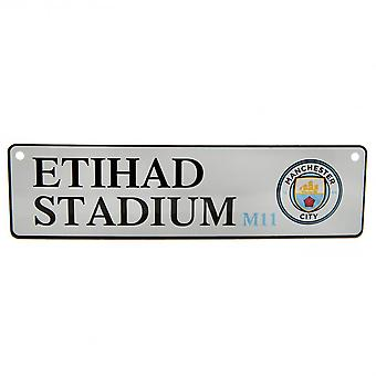 Manchester City FC Official Window Street Sign