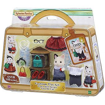 Sylvanian Families  Sylvanian Families - Fashion Playset Tuxedo Cat - 5461