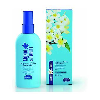 Monoi de Tahiti Protective hair oil SPF6 100 ml of oil