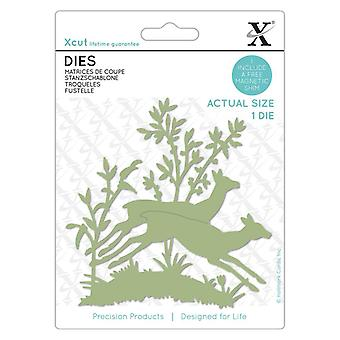 Xcut Die Leaping Fawns