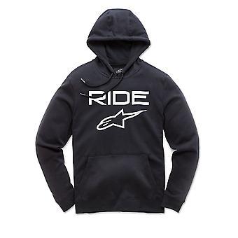 Alpinestars Men's Fleece Hoody - Ride 2.0 bianco