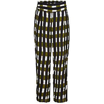 Masai Ropa Pai Cheque Pantalones Impresión