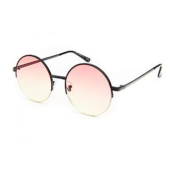 Sunglasses Unisex Cat.3 Pink/Yellow Lens (19-075)