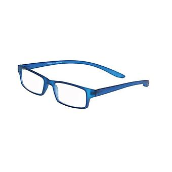 Reading Glasses Unisex Le-0150F Monkey-II Blue Strength +3.50