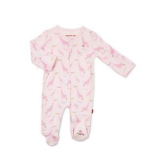 Magnetic Me™ 100% Bio Cotton Magnetic Baby Footie