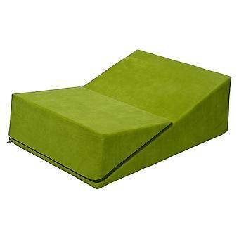 Sex Sofa klappbar Dreieck grün