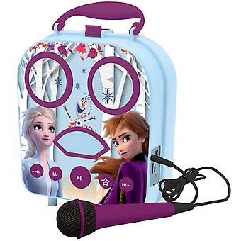 Disney Frozen II My Secret Portable Karaoke avec microphone