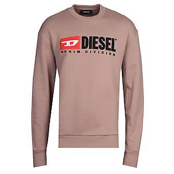 Diesel S-Crew-Division Felpa Brown Sweatshirt