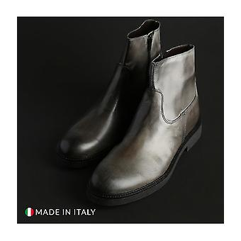Guido Bassi - shoes - ankle boots - 2025_CRUST_GRIGIO - men - gray - EU 40
