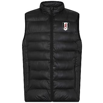 Fulham FC Official Football Gift Mens Padded Body Warmer Jacket Gilet