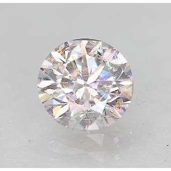 Zertifiziert 0.62 Carat E VVS2 Round Brilliant Enhanced Natural Loose Diamond 5.41m