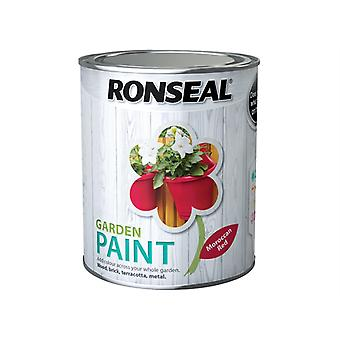 Ronseal Garden Paint Moroccan Red 750ml RSLGPMR750